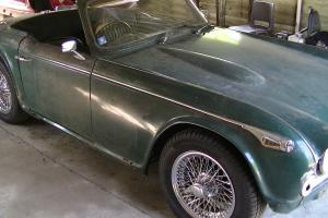 TRIUMPH TR4A 1966 non overdrive  Photo