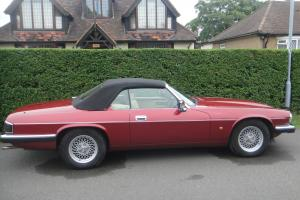 1993 JAGUAR XJS 4.0 CONVERTIBLE  Photo