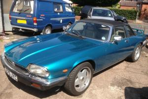 Rare 1985 Jaguar XJS C HE Auto Convertible Targa Top 5.3 V12 XJSC  Photo