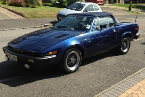 1981 TRIUMPH TR7 V8 4.0L CONVERTIBLE GRINNAL CONVERSION PACIFICA BLUE STUNNING Photo