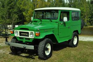 Immaculate 1983 Toyota Fj 40 Land Cruiser  Collector car