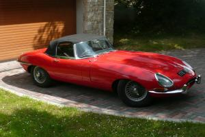 Jaguar e-type 1961 series 1 Roadster, flat floor, 3.8 RHD  Photo