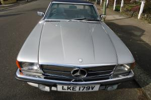 CLASSIC MERCEDES 350 SL W 107 1980 SOFT TOP/HARD TOP ONLY 72000 MILES