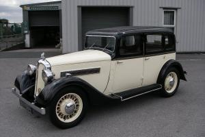 1937 ROVER 10 Six-Light Saloon