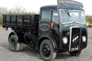 1954 ERF FOUR WHEEL TIPPER (in ERF Book)