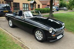 MGB Roadster, 1980, Black, Overdrive, New Wheels, Lotus Seats, Sports Exhaust