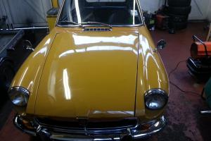 MGB GT 1971 57,000 miles, One Owner from New, Harvest Orange Tax Exempt  Photo