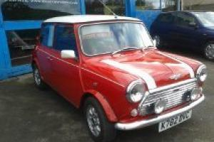 1992 ROVER MINI COOPER 1.3I RED/WHITE