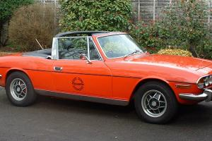 1976 TRIUMPH STAG RED  Photo
