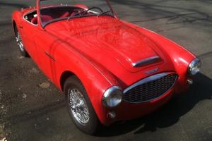Austin Healey BN6 with Factory Hardtop