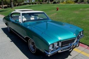 1972 BUICK SUN COUPE EXTREMELY RARE ONE OF A KIND FACTORY PRODUCTION NO RESERVE