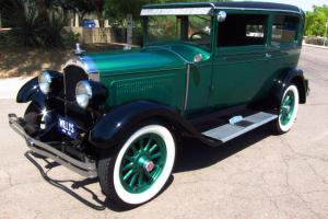 1928 Willys Knight Model 56 Touring Coupe-No Exspense Spared, Show Winning Resto