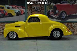 1941 Willys Coupe Outlaw fiberglass 533 big block fast drag muscle classic car