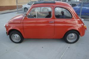 1970 FIAT 500L looks runs and drives excellent