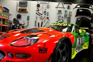 RARE FAMOUS PROTOTYPE MARCOS MANTIS ROAD/RACE CAR - VIPER -  ASTON - GT