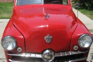 1951 Crosley Fleetside Pickup Truck!  Great condition! Cherry Red!