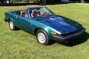 Triumph TR8 V8 Convertible Rustfree Factory Built Car  Photo