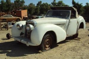 TRIUMPH ROADSTER 2000 1948  Photo