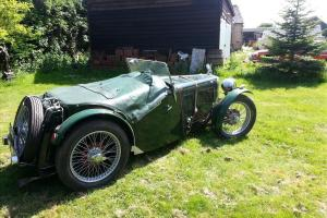 MG J2 MIDGET GREEN with sensitive XPAG conversion  Photo