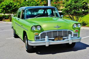 simply beautiful 68 Checker Marathon owned by late sage stallone restored 327 ac