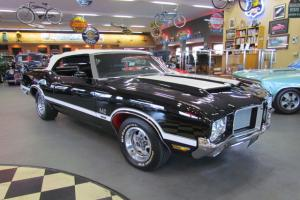 1971 Oldsmobile 442 Convertible 455, Added W-30 Ram Air