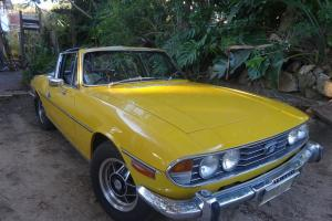 Triumph Stag 1977 Convertible 4 SP Manual Overdrive 3L Twin Carb