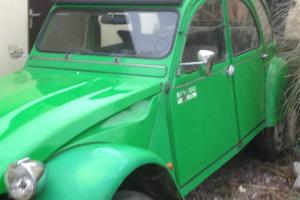 CITROEN 2CV BAMBOO 1987 43K ONLY
