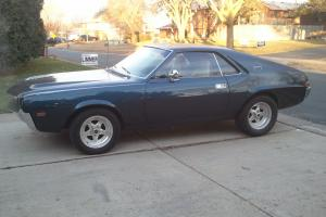 1968 AMC AMX 4 SPEED