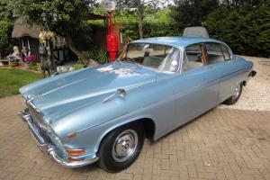 JAGUAR 420 G BLUE MK 10 1968 TOTAL RESTORATION