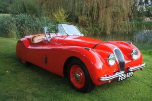 RHD Jaguar XK120 Roadster Just 6000 Miles Since Body Off Restoration  Photo