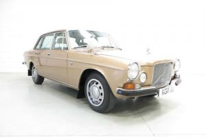 A Luxurious Volvo 164 in Immaculate Condition, Full History and Very Low Owners
