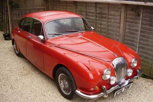 DAIMLER V8 250 AUTO , RED , 3 OWNERS ,