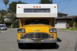 1965 Checker Marathon Taxi Cab Custom Camper Conversion RV
