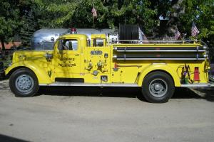 1945 Mack E series Model 505s 510 cid thermodyne 6cyl 160 hp 5 speed Photo