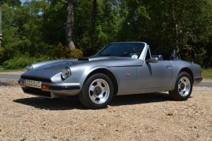 1987 TVR S1 GREY/BLUE CONVERTABLE, NO RESERVE