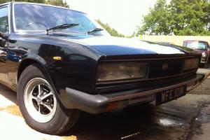 FIAT 130 COUPE BLACK 1974 FERRARI ENGINED BELLISSIMO