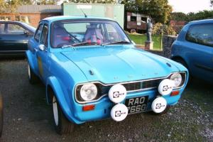 Ford Escort Mk1 1968, 2.1/2.0 Pinto, Rally Car, RAC Logbook (Not Mk2, Mexico)