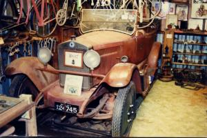 Vintage CAR 1922 Berliet Very Rare Only Known Model IN Australia