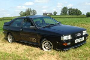 1986 AUDI QUATTRO COUPE UR / WR FACELIFT MODEL 2144cc