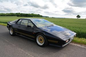 Lotus Esprit Turbo, 1982 in JPS Colours. Half Sand Leather. Last owner 13 years.  Photo