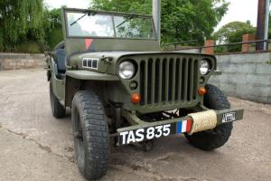 Hotchkiss Jeep M201 licenced built French Willys MB Ford GPW overland military