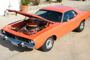 NEW RESTORED 1972 PLYMOUTH BARRACUDA