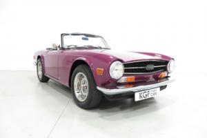 A Classical UK Triumph TR6 PI in Impeccable, Enthusiast Owned Condition