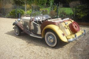 1952 MG TD LHD FOR RESTORATION  Photo