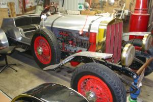 HOME MADE ALUMINUM RACE CAR BODY ON A 1929 AIR COOLED FRANKLIN CHASSIS