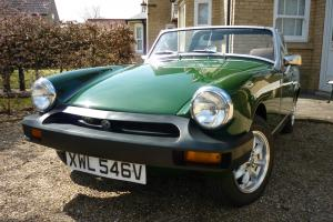 1979 Brooklands Green MG Midget 1500
