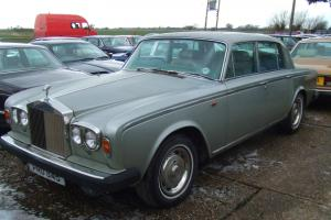 1979 ROLLS ROYCE GREY for restoration original car not full of filler like most  Photo