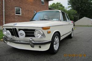1971 BMW 2002 Chamonix 4 Speed