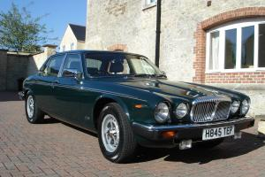 Daimler Double Six 38,800 miles,stunning original condition- Brooklands Green