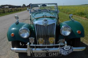 1955 MG TF SPECIAL - TAX EXEMPT - MOT EXEMPT - AMAZING SUMMERTIME BARGAIN..